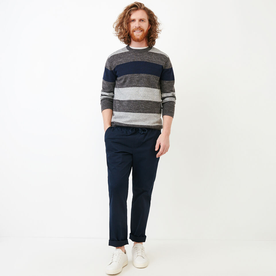 Roots-undefined-Shall Lake Stripe Crew Sweater-undefined-B