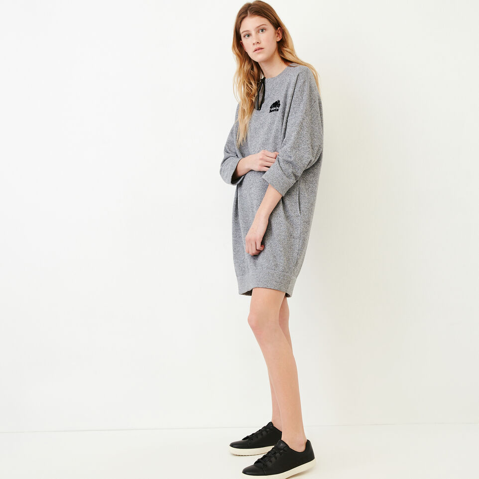 Roots-undefined-Roots Salt and Pepper Oversized Dress-undefined-B