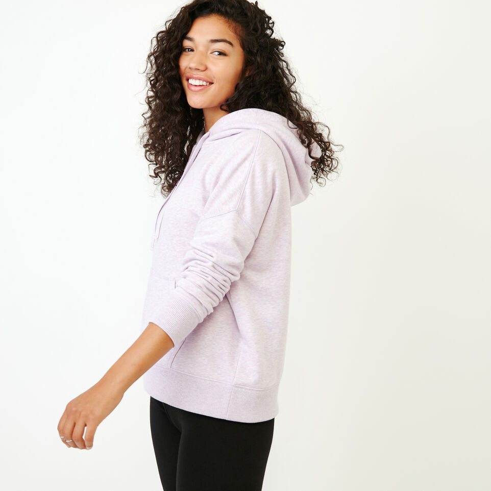 Roots-Women Our Favourite New Arrivals-Junction Hoody-Thistle Mix-C