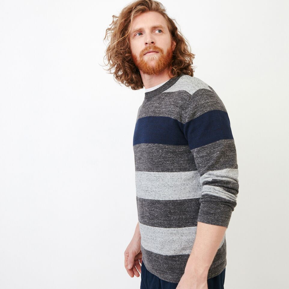 Roots-undefined-Shall Lake Stripe Crew Sweater-undefined-C