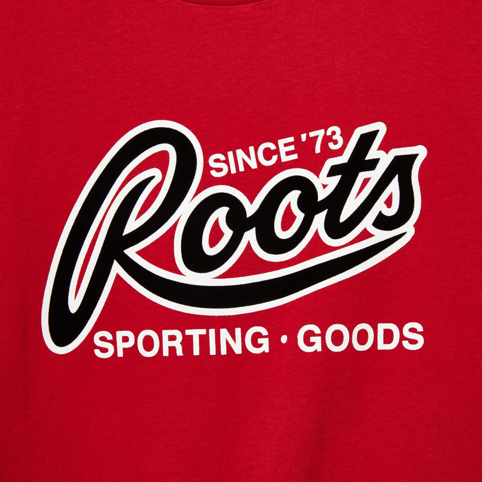 Roots-undefined-T-shirt Sport Roots pour homme-undefined-D