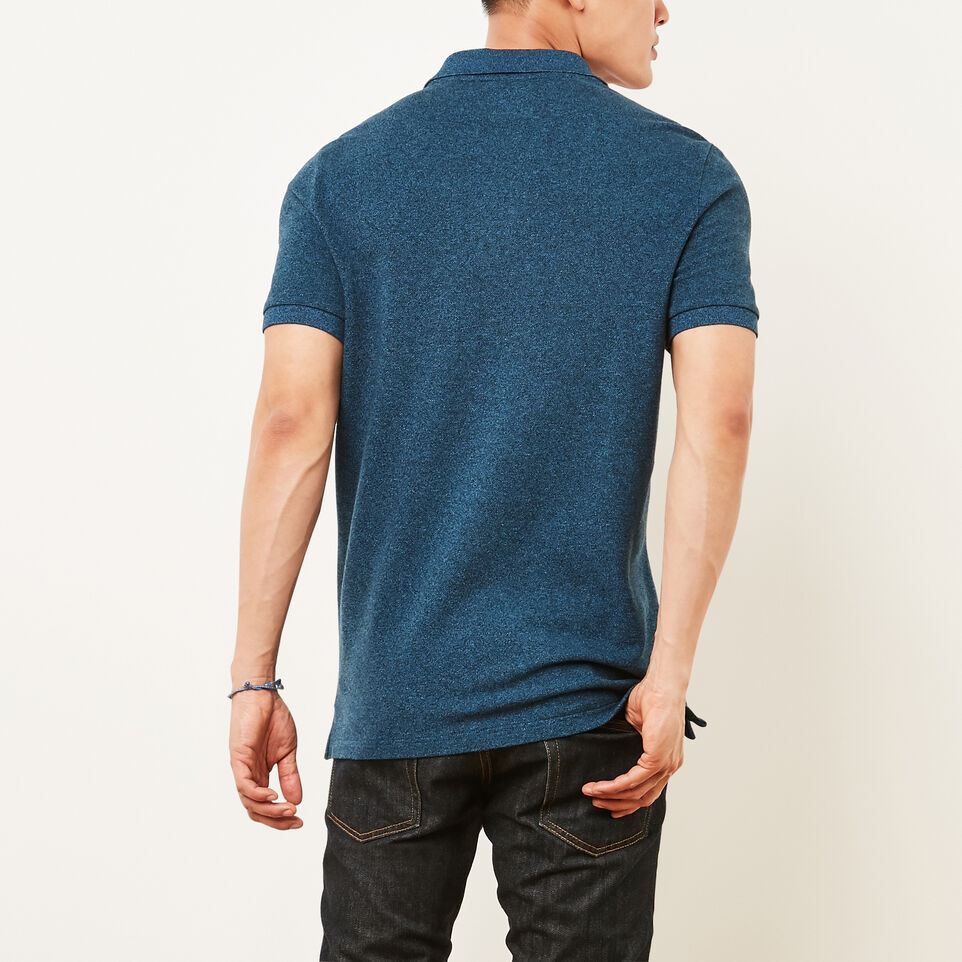 Roots-undefined-Heritage Peppered Polo-undefined-D