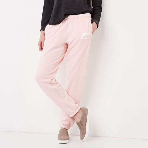 Roots-Women Original Sweatpants-Original Sweatpant-English Rose-A