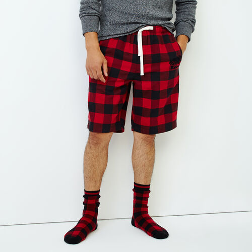 Roots-Men Our Favourite New Arrivals-Inglenook Lounge Short-Cabin Red-A