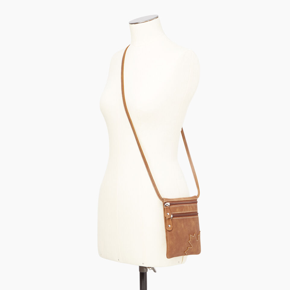 Roots-Leather  Handcrafted By Us Our Favourite New Arrivals-Trans Canada Pouch-undefined-B