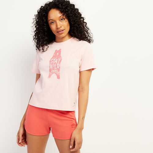 Roots-Women New Arrivals-Womens Victoria T-Shirt-Peachskin-A