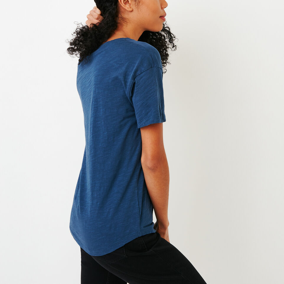 Roots-New For January Women-Savin Top-Sargasso Sea-C