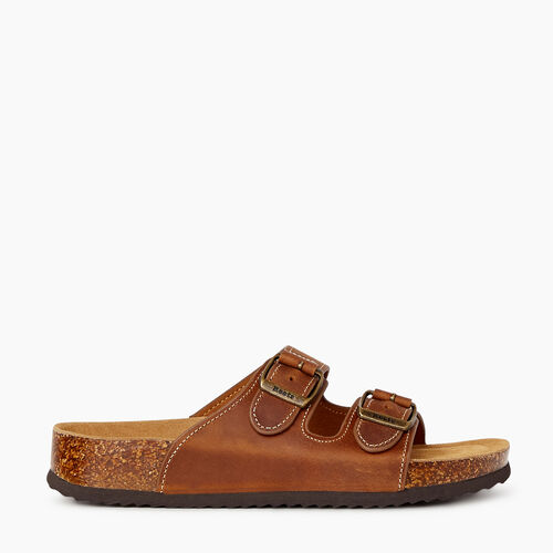 Roots-Footwear Categories-Womens Natural 2 Strap-Barley-A