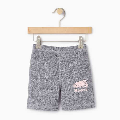 Roots-Kids Toddler Girls-Toddler Original Roots Short-Salt & Pepper-A