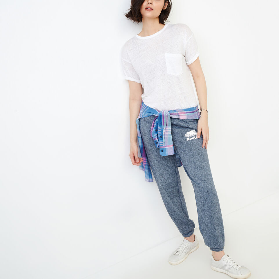 Roots-Women Our Favourite New Arrivals-Original Sweatpant-Navy Blazer Pepper-B