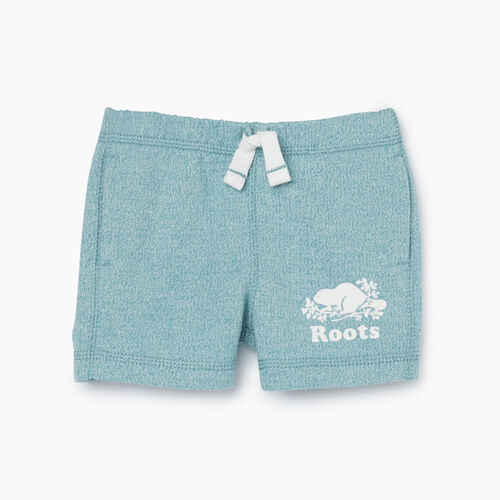 Roots-Kids Bottoms-Baby Original Roots Short-Mineral Blue Pepper-A