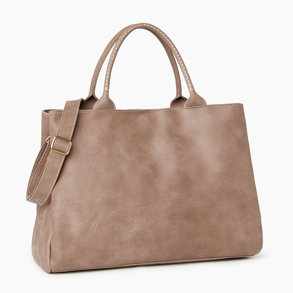 Roots-Leather Our Favourite New Arrivals-Large Mont Royal Bag-Fawn-C