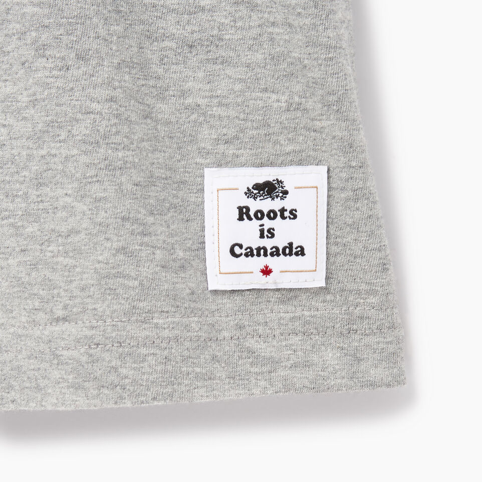 Roots-Men Canada Collection By Roots™-Mens Cooper Colours Canada T-shirt-Grey Mix-C