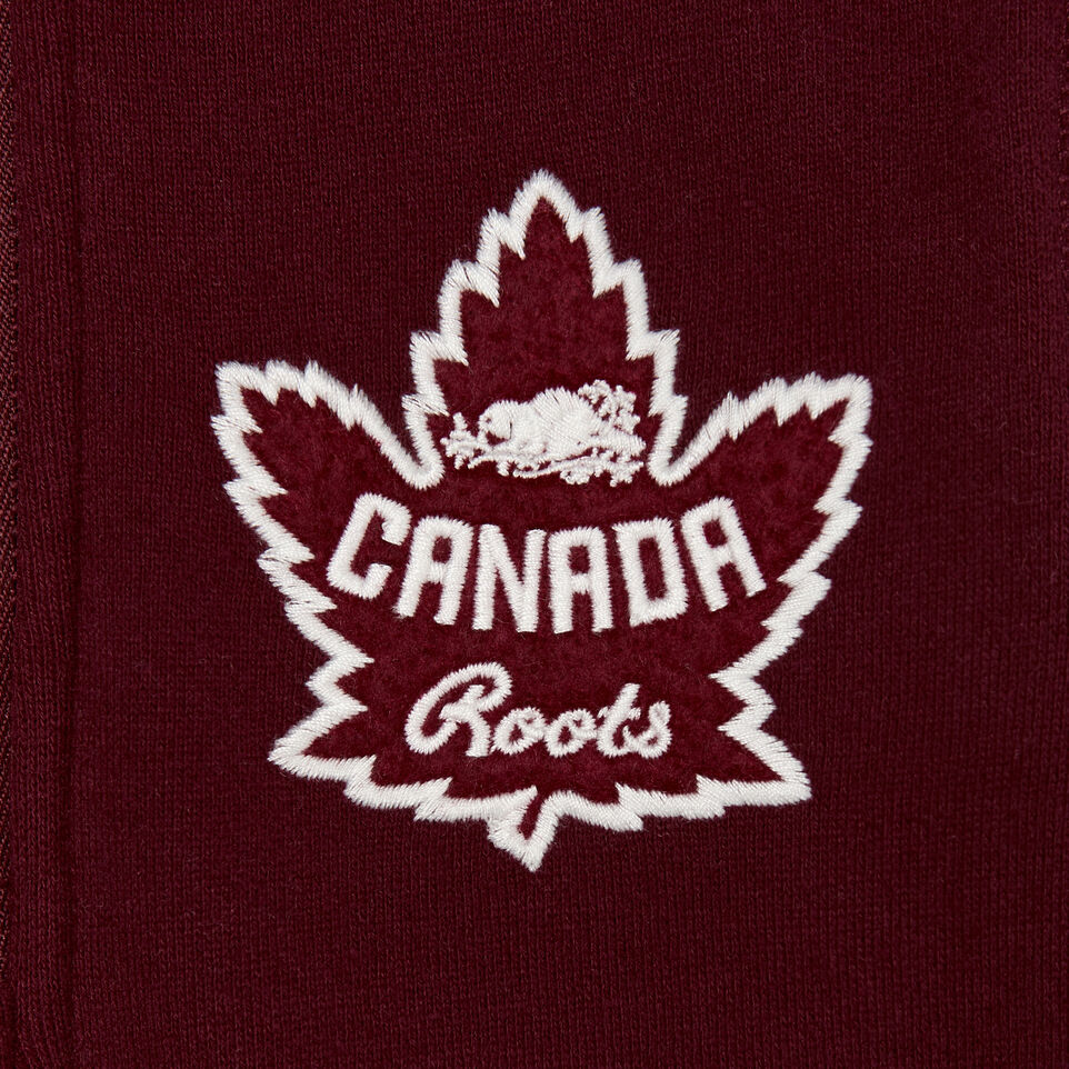 Roots-New For December Kids-Toddler Canada Zip Stein-Northern Red-C