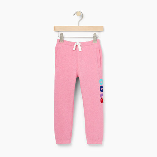 Roots-Kids Bottoms-Toddler Roots Remix Sweatpant-Pink Mix-A