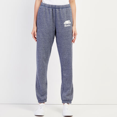 Roots-Women Sweatpants-Original Sweatpant-Navy Blazer Pepper-A