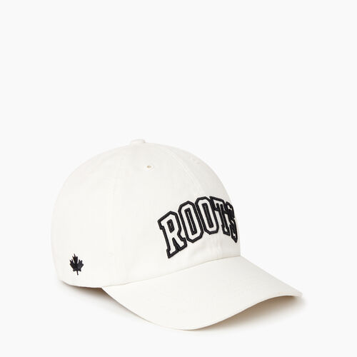 Roots-Men Our Favourite New Arrivals-2.0 Baseball Cap-Ivory-A