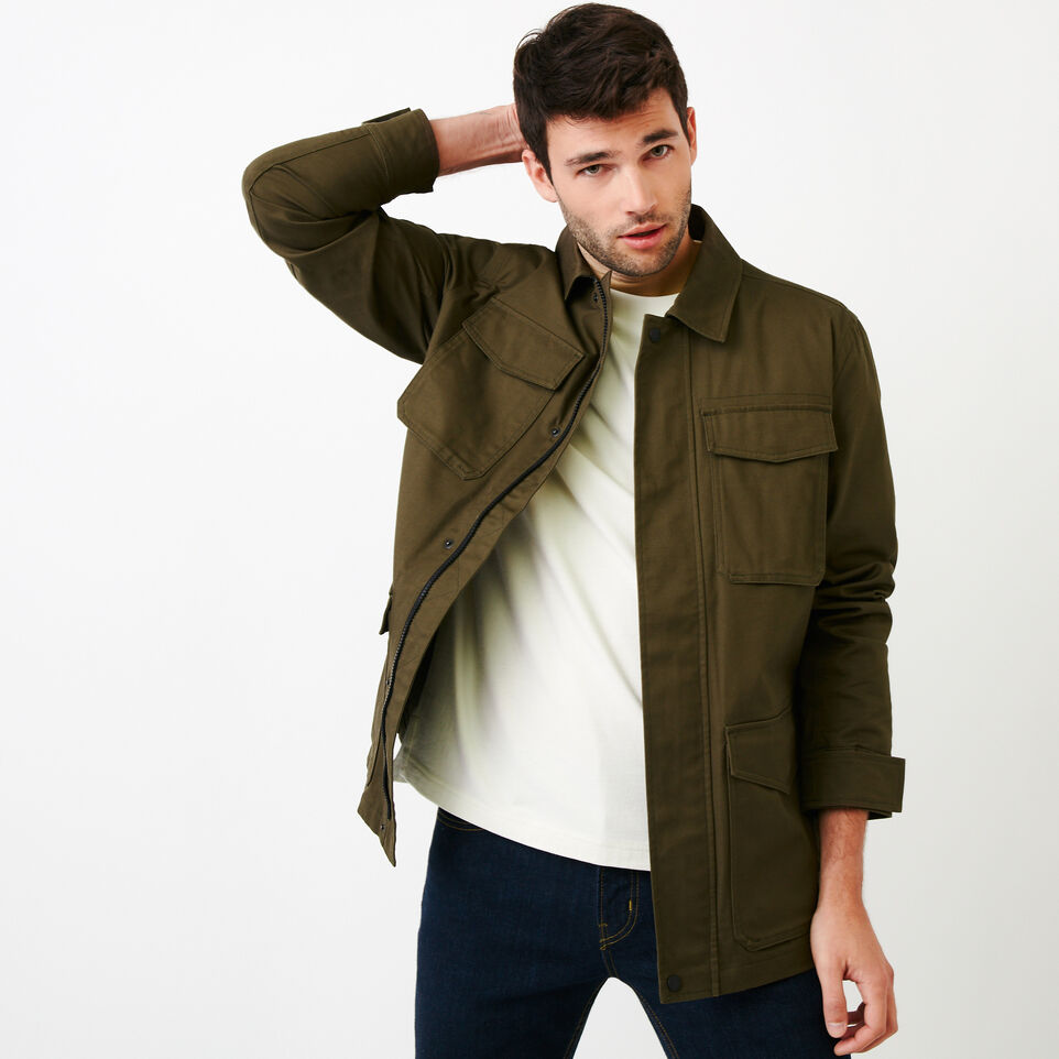 Roots-Men Our Favourite New Arrivals-Jasper Field Jacket-Fatigue-A