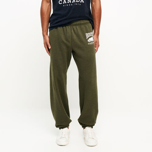 Roots-Men Original Sweatpants-Classic Relaxed Sweatpant-Fatigue Mix-A