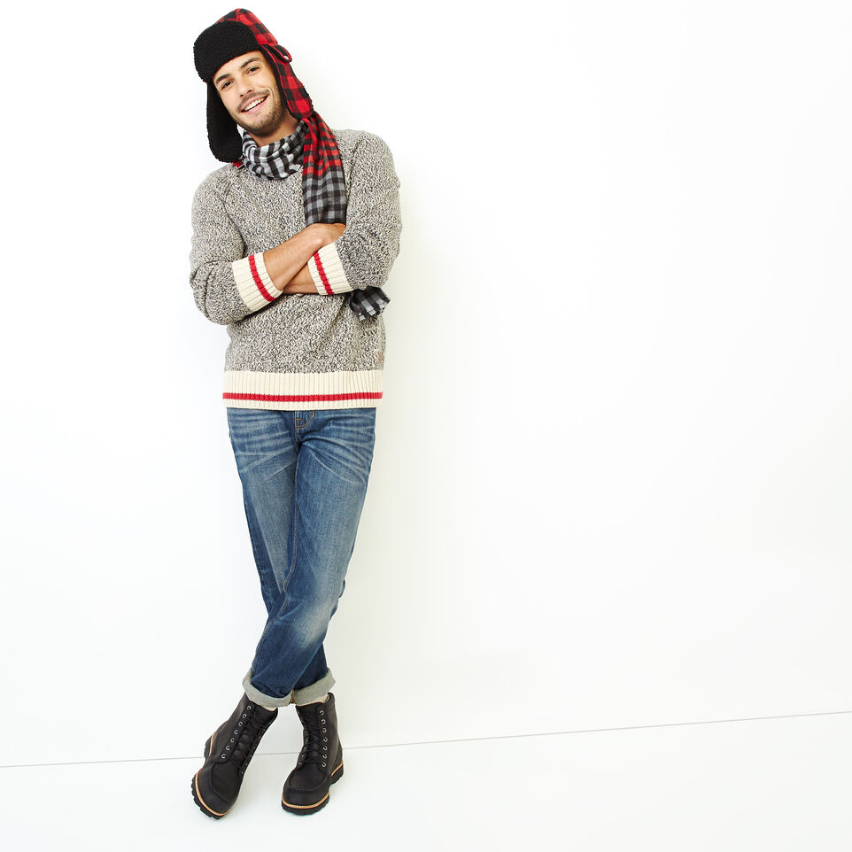 Roots-Men Our Favourite New Arrivals-Roots Cotton Cabin Crew Sweater-Speckle-B