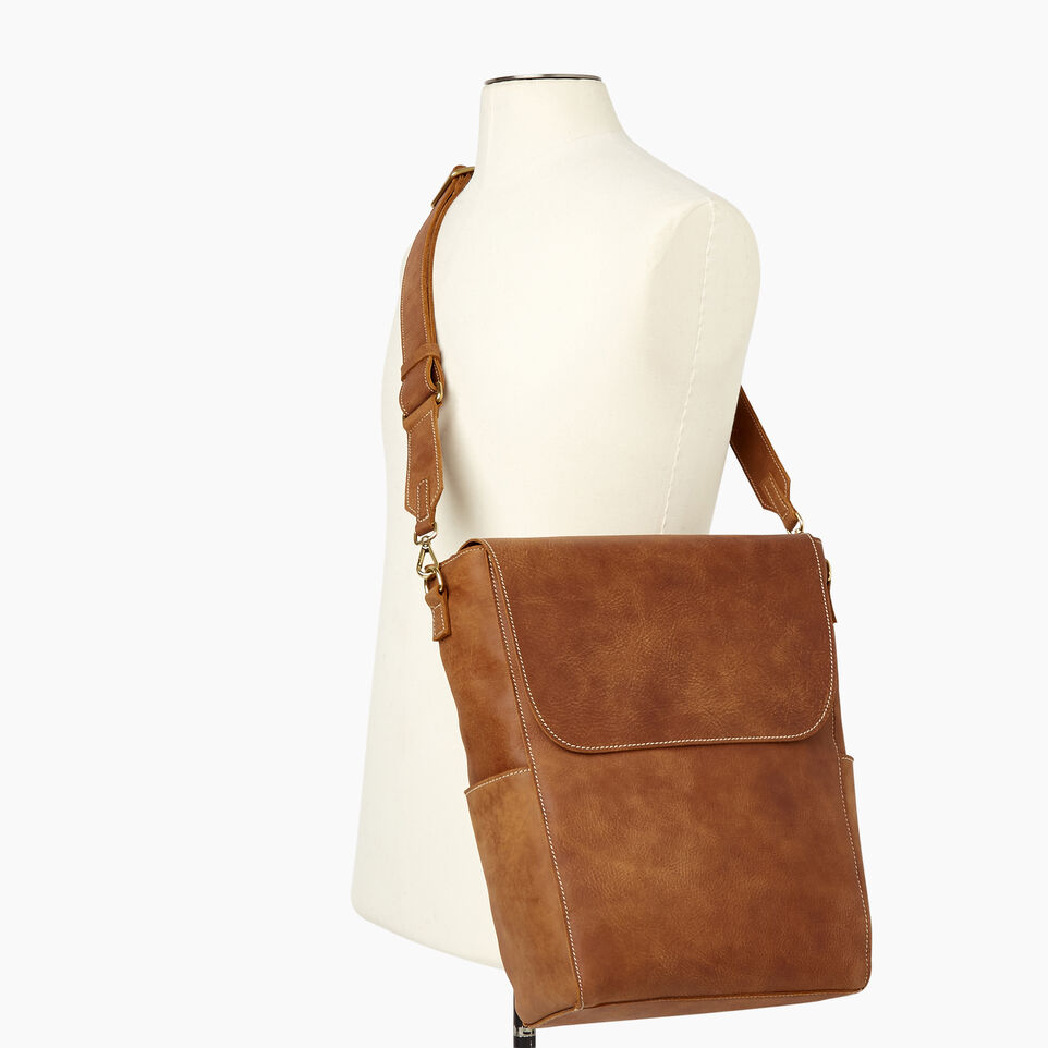Roots-Leather Our Favourite New Arrivals-Journey Bag-Natural-B