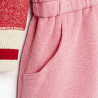 Roots-Kids Baby Girl-Baby Roots Cabin Cozy Dress-Cashmere Rose Pepper-D