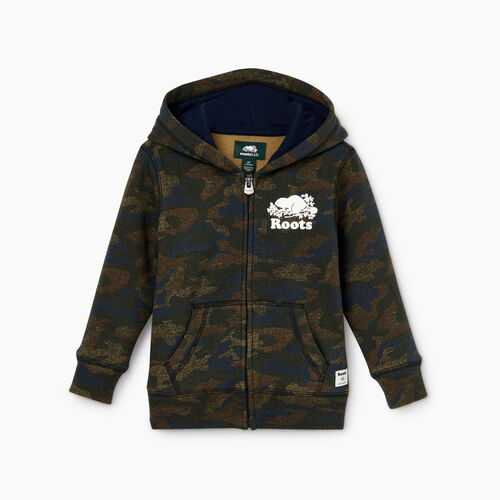 Roots-Kids Toddler Boys-Toddler Original Full Zip Hoody-Camo Print-A
