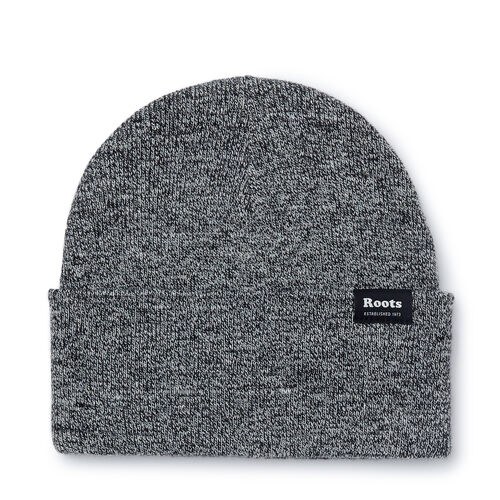 Roots-Men Accessories-Bracebridge Toque-Salt & Pepper-A