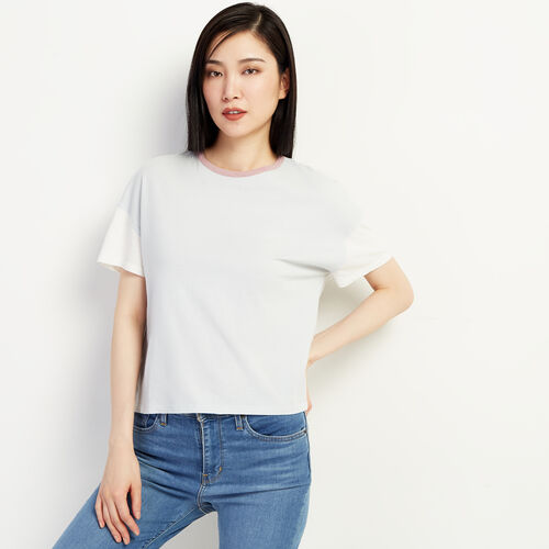 Roots-Women New Arrivals-Courtenay T-shirt-Clean Air-A