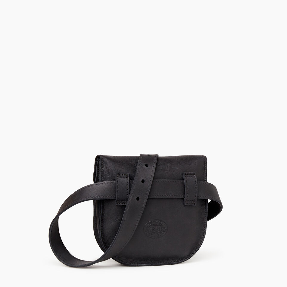 Roots-Leather  Handcrafted By Us Our Favourite New Arrivals-Lambert Belt Pack-Jet Black-C