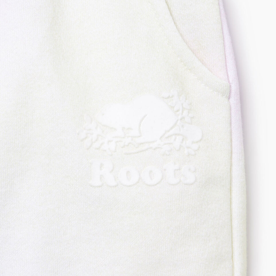 Roots-Kids Our Favourite New Arrivals-Baby Watercolour Short-Ivory-D