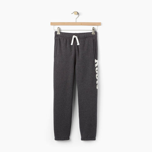 Roots-Clearance Kids-Boys Roots Remix Sweatpant-Charcoal Mix-A