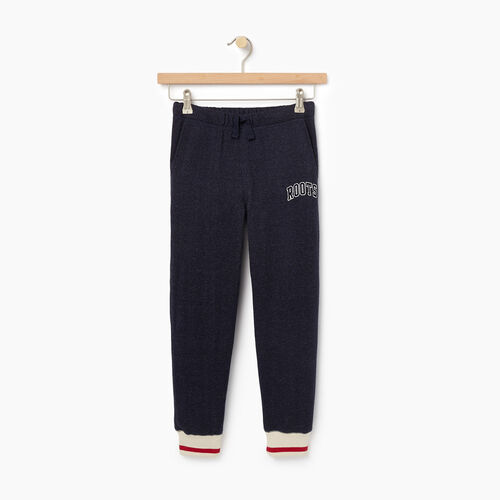 Roots-Kids Boys-Boys Roots Cabin Sweatpant-Navy Blazer Pepper-A