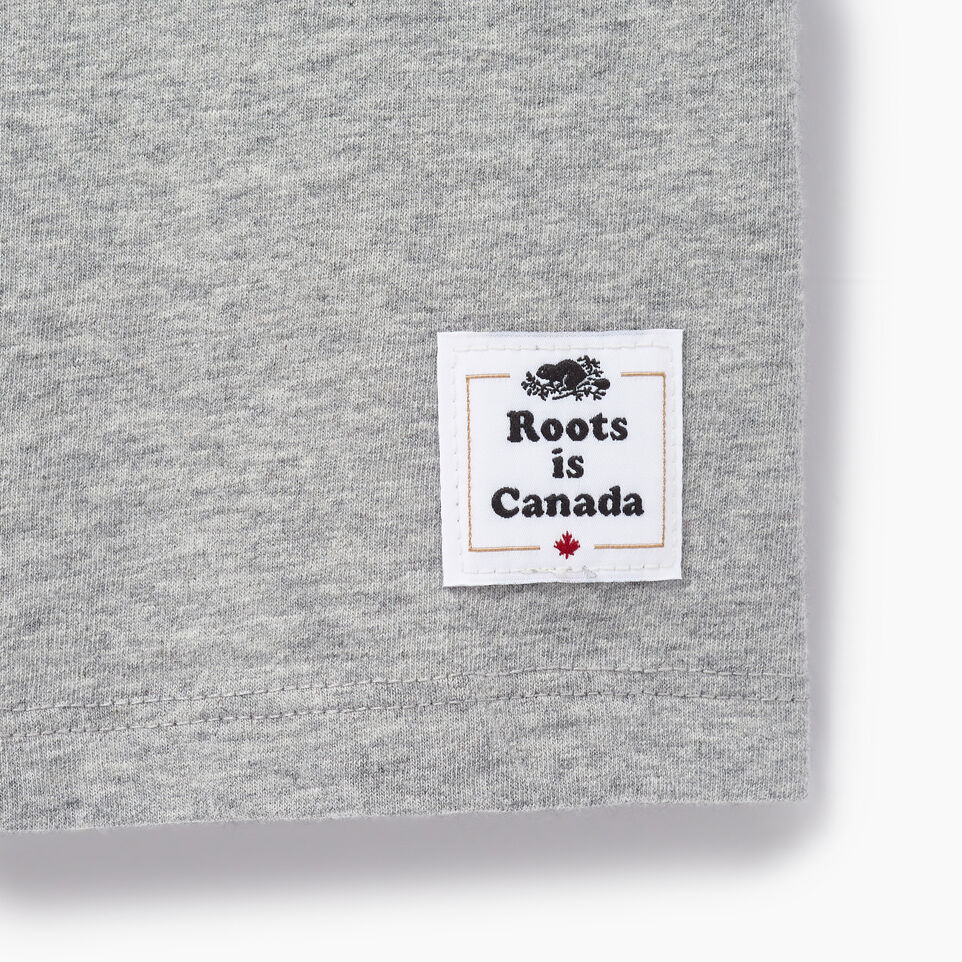 Roots-New For June Canada Collection By Roots™-Womens Cooper Canada T-shirt-Grey Mix-C