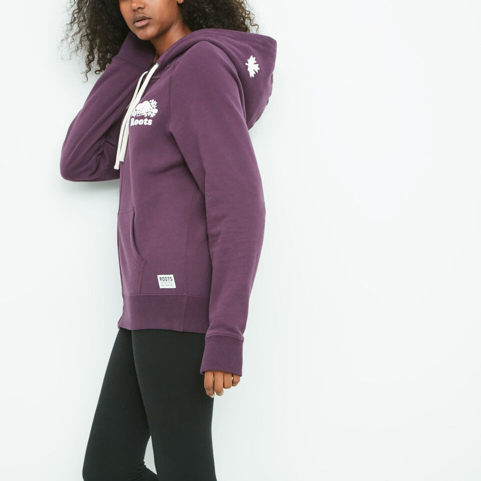 Amy Boyfriend Full Zip Hoody | Roots