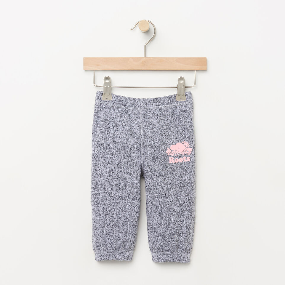 Roots-undefined-Pantalon original en coton ouaté Roots pour bébés-undefined-A