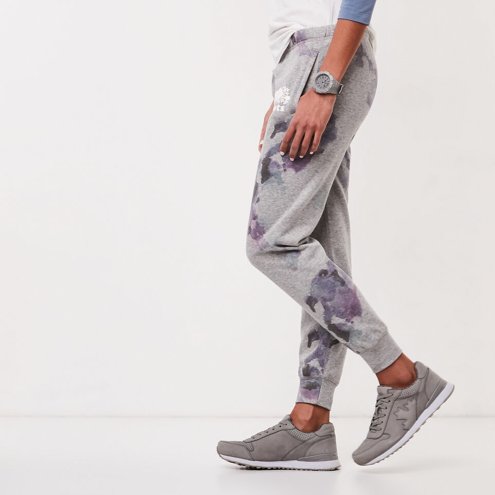Roots-undefined-Water Colour Slim Cuff Sweatpant-undefined-C
