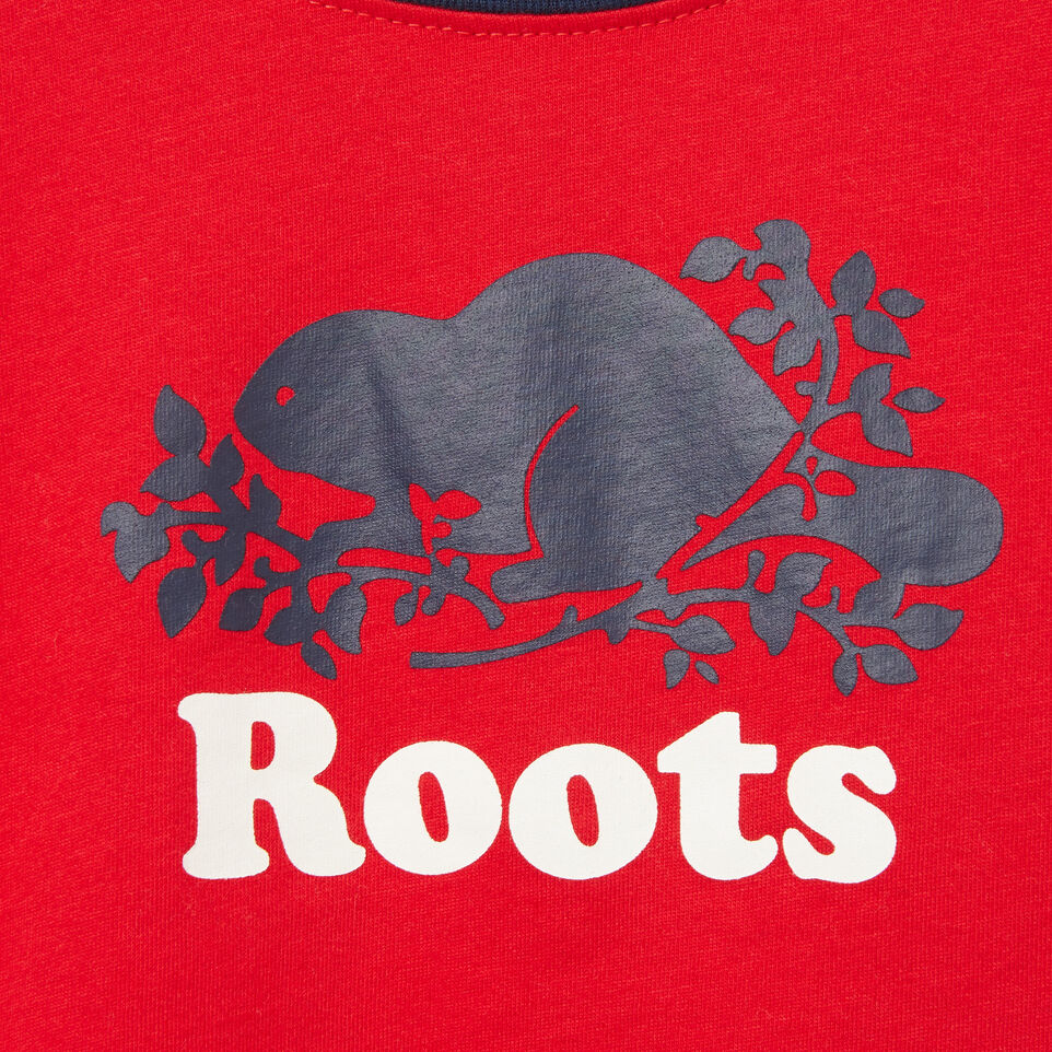 Roots-undefined-Baby Cooper Ringer T-shirt-undefined-C