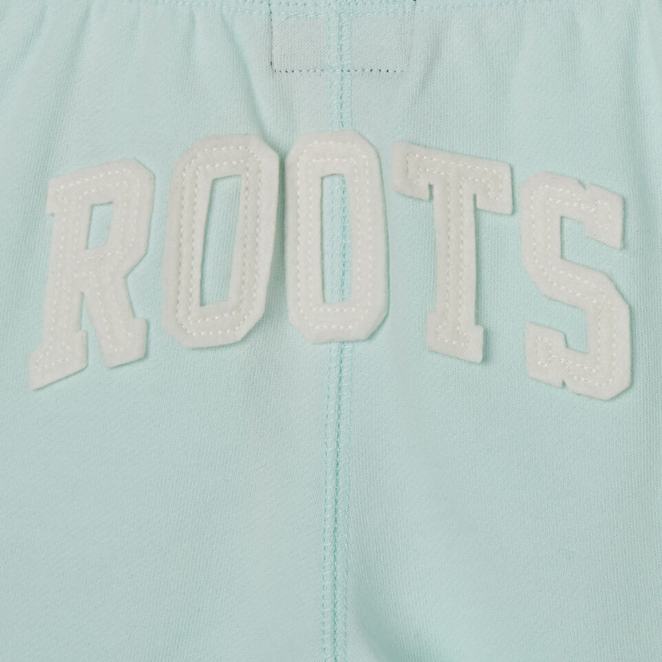 Roots-Kids New Arrivals-Toddler Original Roots Short-Bleached Aqua-D