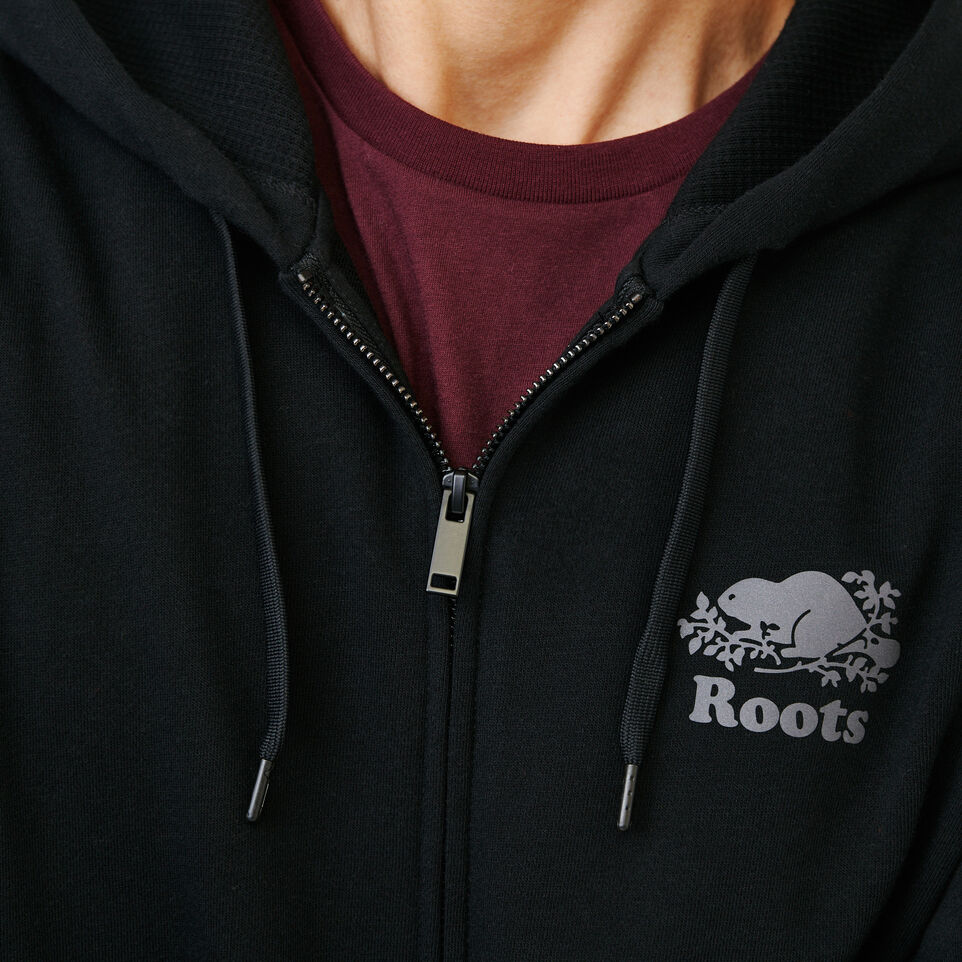 Roots-Men New Arrivals-Roots Breathe Zip Hoody-Black-E