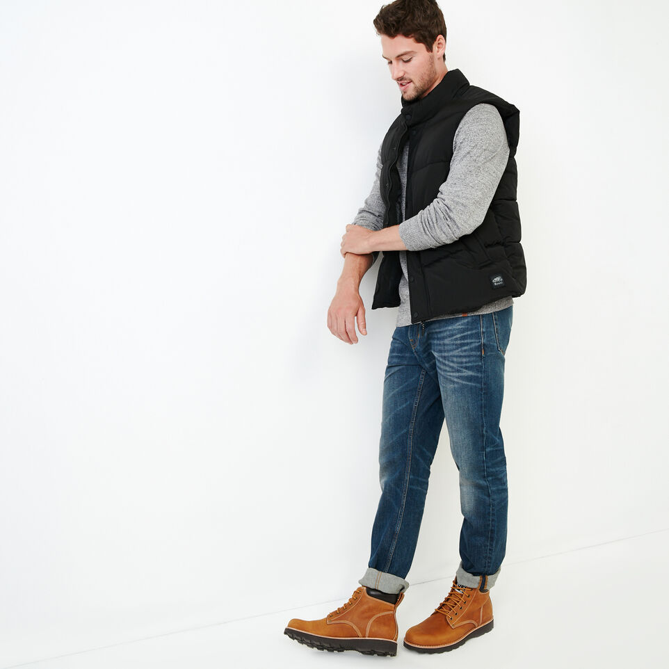 Roots-Men Our Favourite New Arrivals-All Seasons Crew Sweater-Sharkskin Mix-B