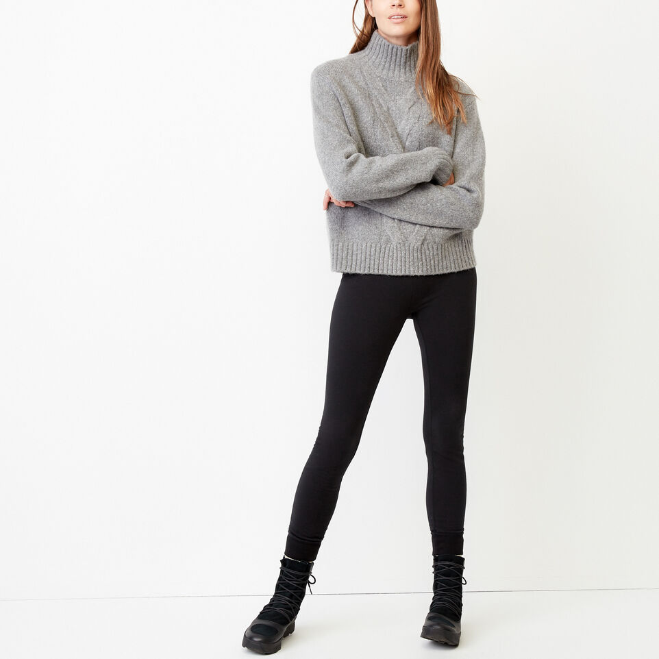 Roots-Women Our Favourite New Arrivals-Nita Cable Sweater-Grey Mix-B
