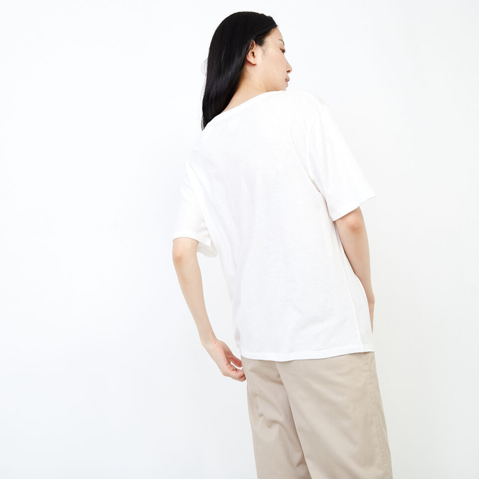 Roots-New For August Women-Penny Top-Ivory-D