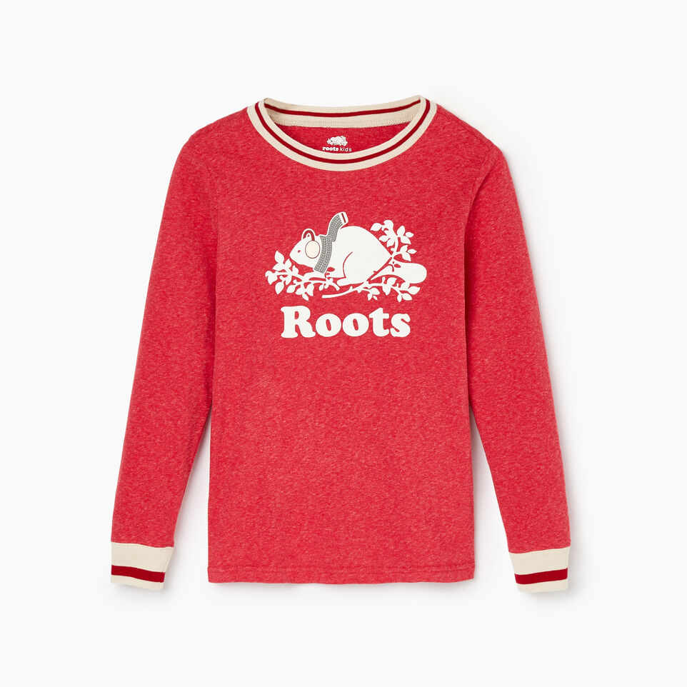 Roots-Kids Our Favourite New Arrivals-Girls Buddy Pj Set-Cabin Red Pepper-C