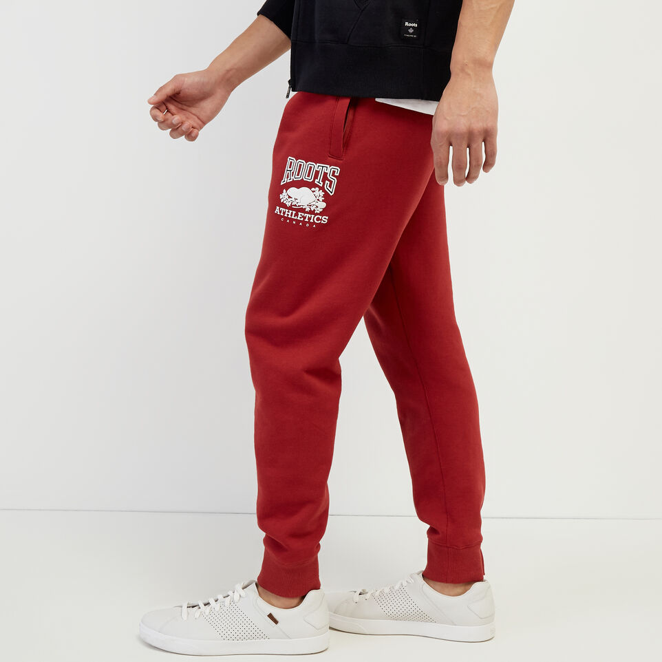 Roots-New For March Rba Collection-RBA Park Slim Sweatpant-Rosewood-C