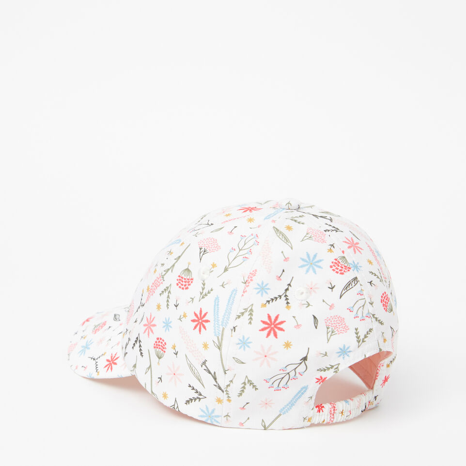 Roots-undefined-Toddler Cooper Floral Baseball Cap-undefined-C