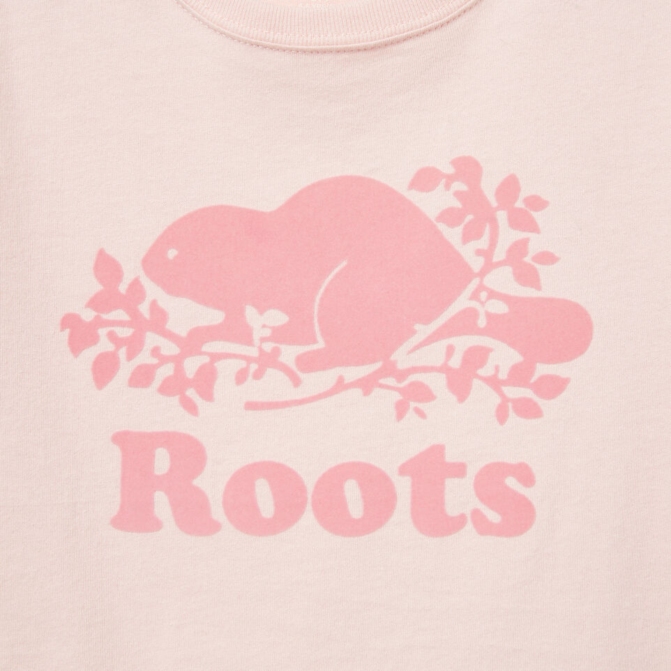 Roots-undefined-Girls Cooper Beaver T-shirt-undefined-C