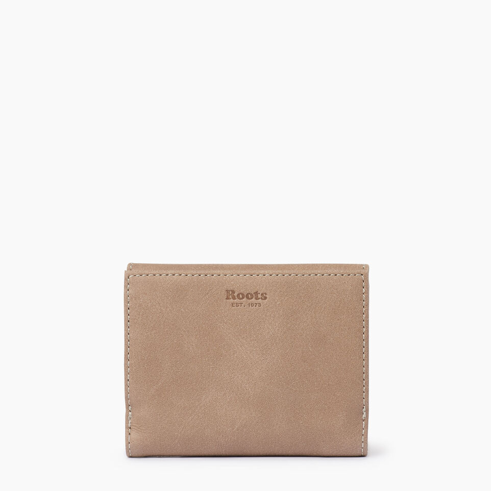 Roots-Leather Our Favourite New Arrivals-Riverdale Wallet-Sand-B