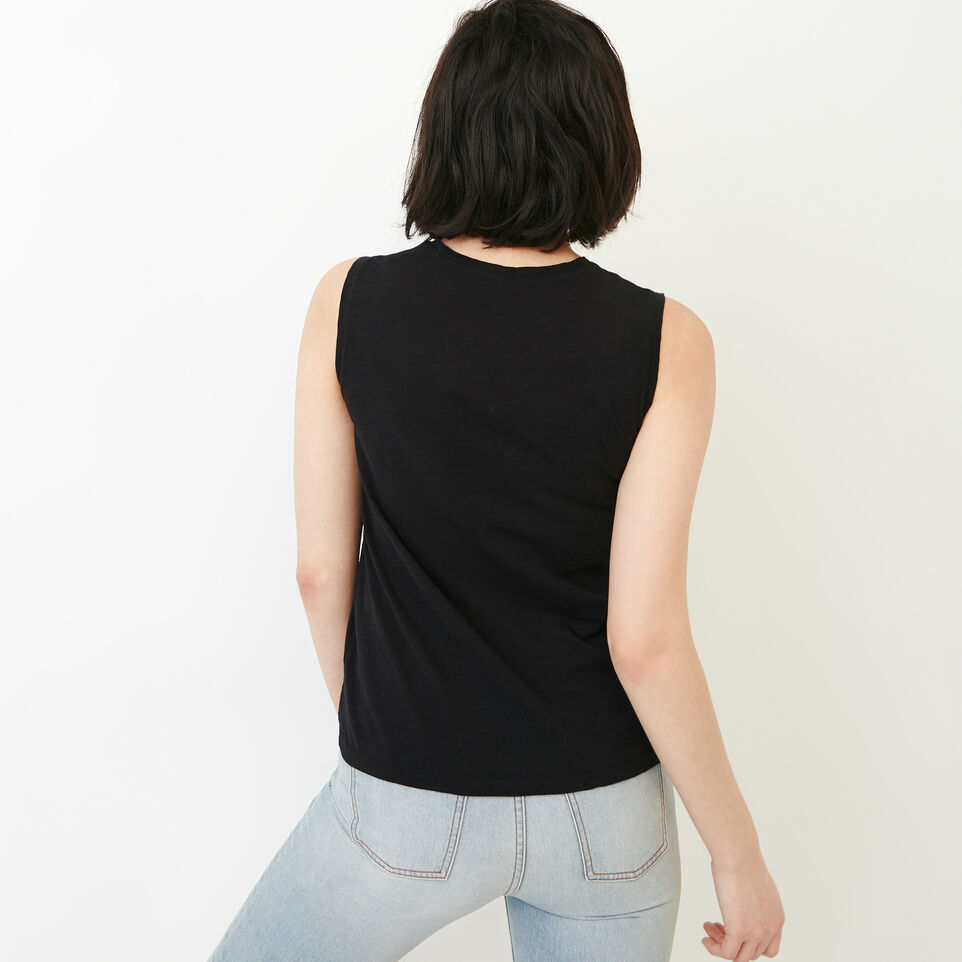 Roots-Women Our Favourite New Arrivals-Lorne Muscle Tank Top-Black-D