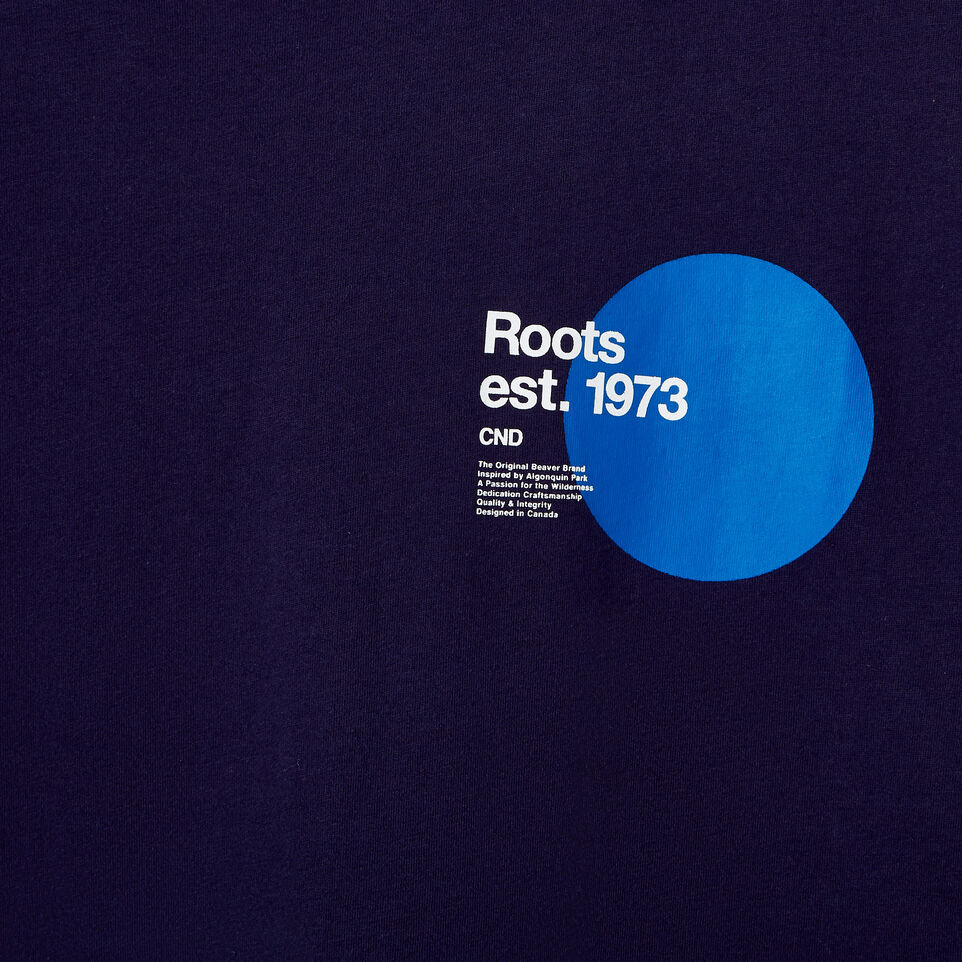 Roots-undefined-Mens Am Pm T-shirt-undefined-D